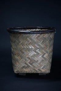 Basket Bamboo Safari D44 H42CM