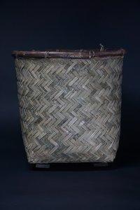 Basket Bamboo Safari D49 H48CM