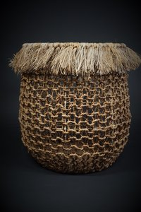 Basket banana rope D50 H51CM