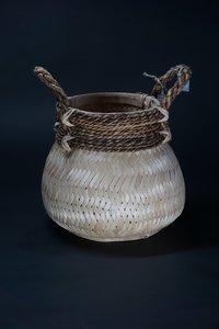 Basket bamboo blond S D H  CM